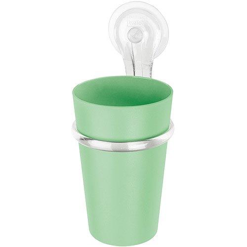 《KOZIOL》Loop吸盤漱口杯(薄荷綠)