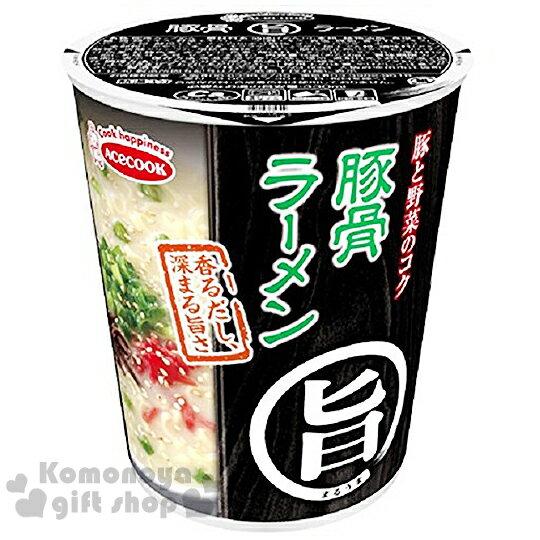 〔小禮堂〕日本原產 豬廚AceCook 旨味 杯麵《60g.湯麵》豚骨拉麵味
