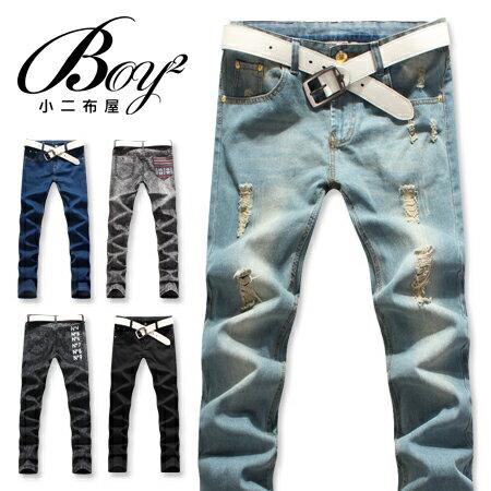 ☆BOY-2☆【NQLB299】 潮流多款丹寧牛仔褲任選$299 鬼洗/窄管/素面/刷舊 1