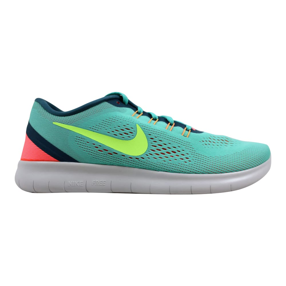 100% authentic 0bc2f 2df2c Nike Free RN Hyper Turquoise Ghost Green 831509-302 Women s Size 5 0