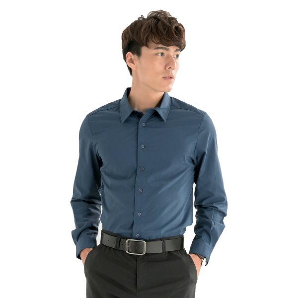 VEPRISTY紳士極致快乾經典襯衫(午夜藍)