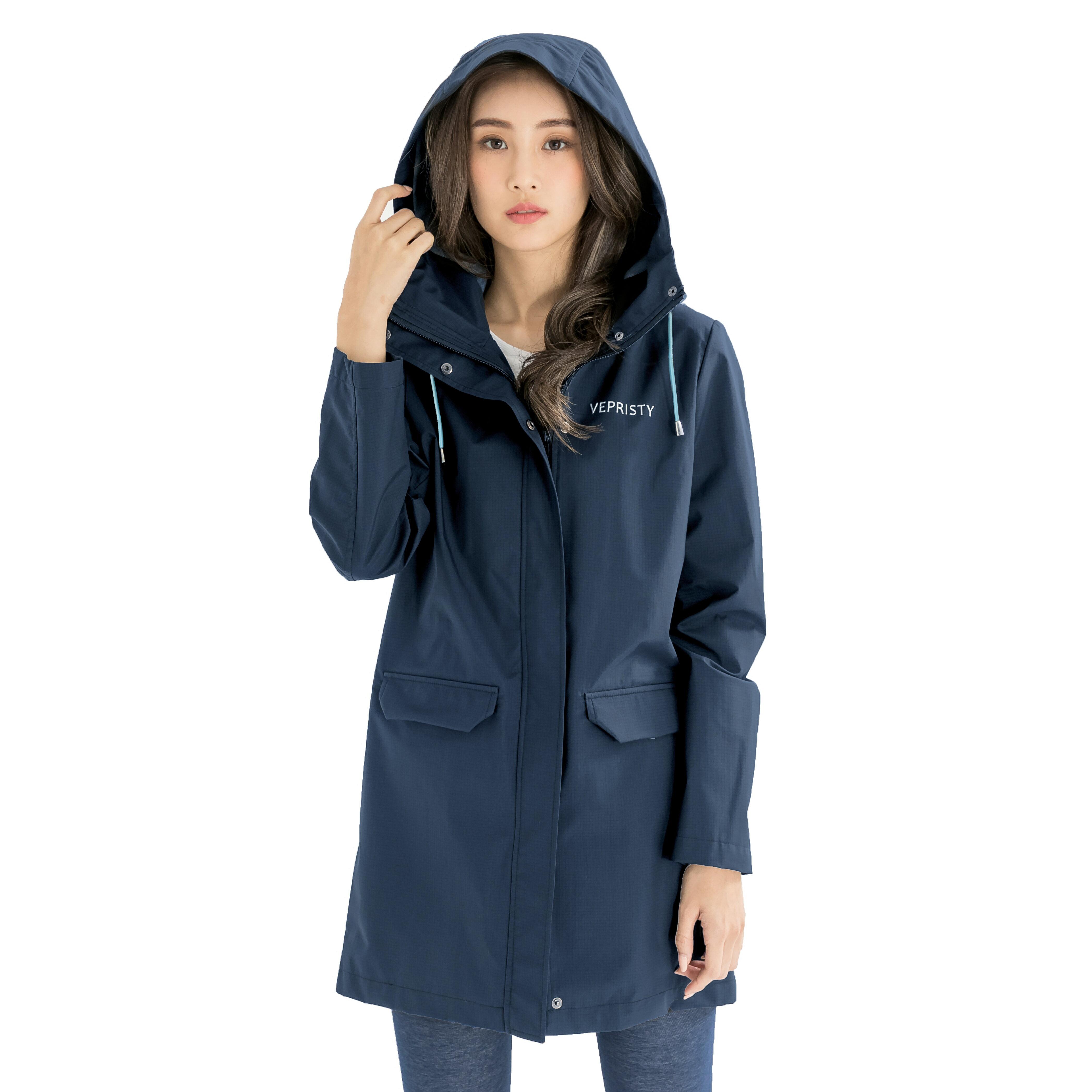 VEPRISTY gore-tex等級防水透氣風衣外套 (水手藍)
