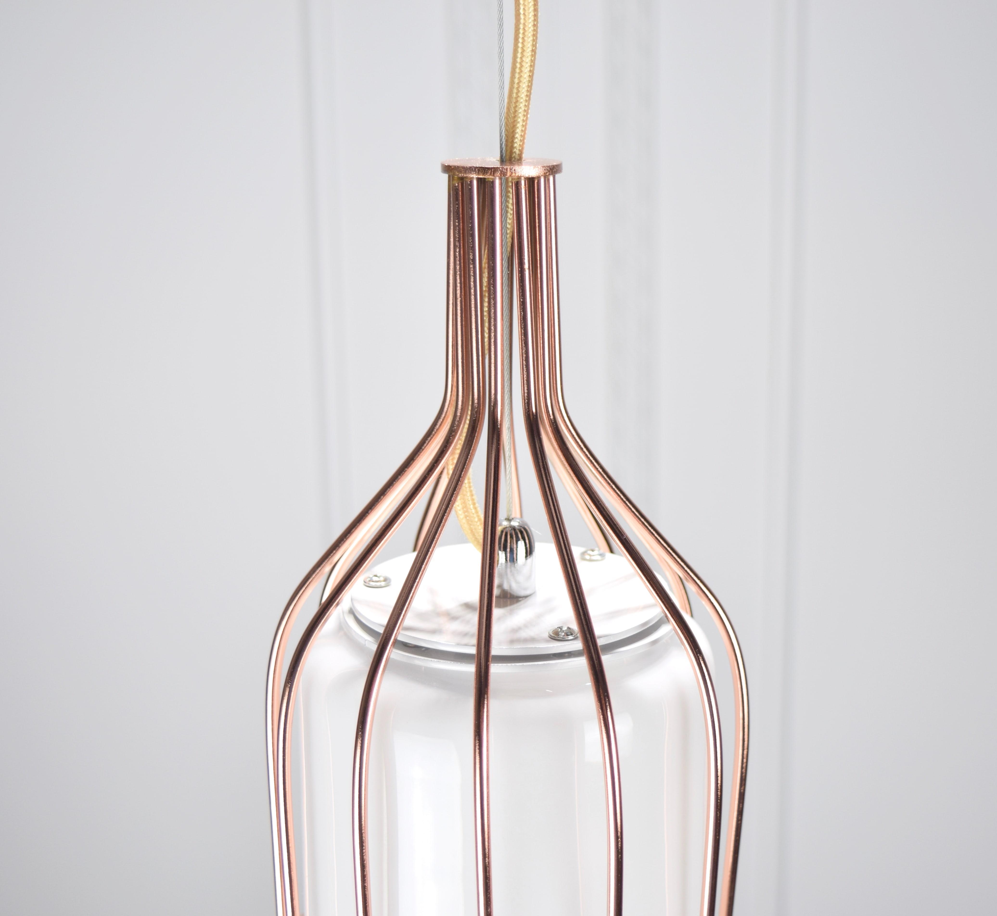 白玉紅銅吊燈-BNL00116 6