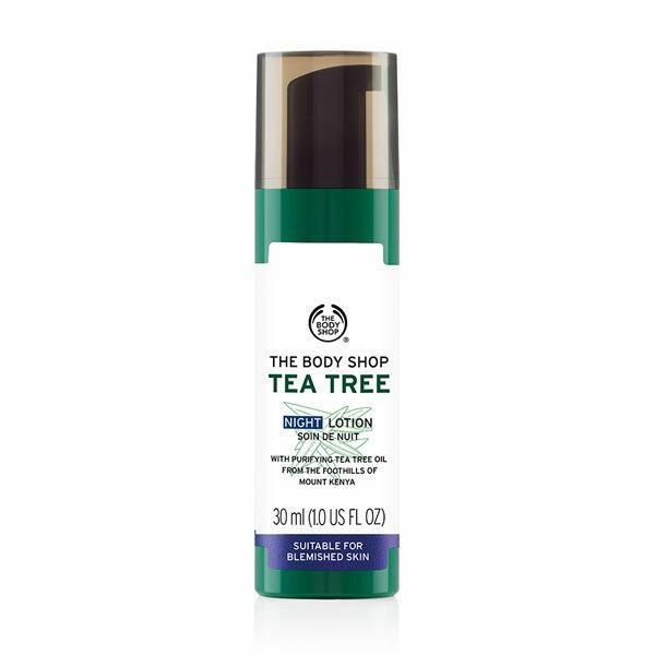 Realhome 英國 The Body Shop 茶樹系列 有機天然茶樹淨膚夜間修護乳 30ml