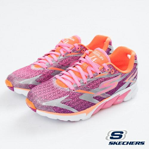 [陽光樂活] SKECHERS 女款 跑步系列 GO RUN 4 - 13995HPOR(出清75折)