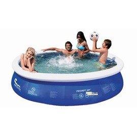 【碟形充氣游泳池-中號-300-3966L-直徑300*76cm-1套/組】圓形水池 3層夾網料 家庭碟形充氣游泳池 兒童學泳釣魚池(四種規格可選)-76033