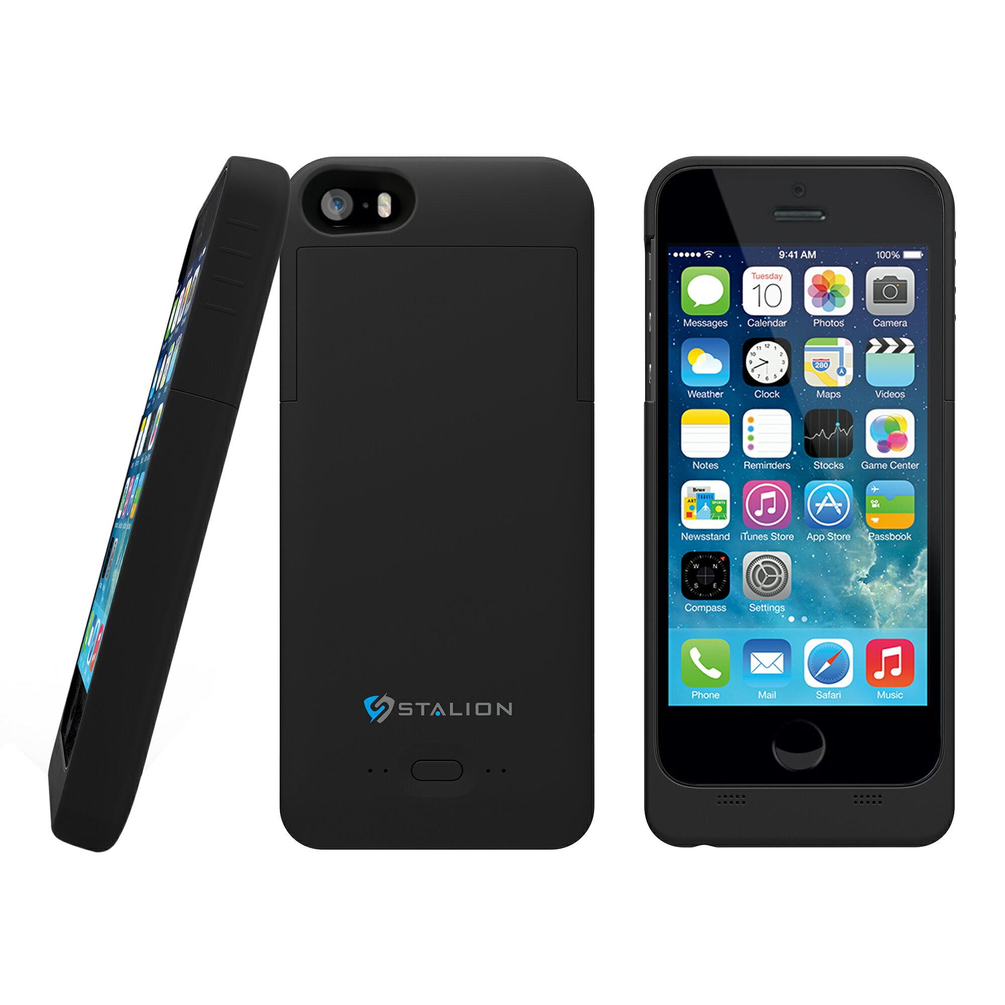 the best attitude 82cf5 2b607 Apple iPhone 5/5s SE Battery Case Jet Black