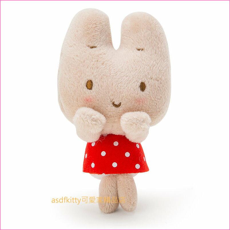 asdfkitty可愛家☆茉莉兔造型趴趴玩偶/短絨毛玩偶-陪您上班上網-紓壓療癒-日本正版商品