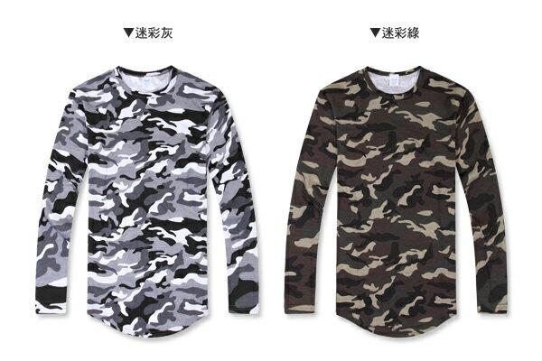 ☆BOY-2☆【PPK86133】韓版男裝下擺圓弧長版T恤 2