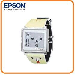 EPSON Smart Canvas Korilakkuma 小白熊款手錶 百變! 5種模式切換 細緻! 日本精工設計輕巧薄型外觀 時尚! 搭配穿著任意變換錶帶 耐用! 獨家省電技術3年持久電力