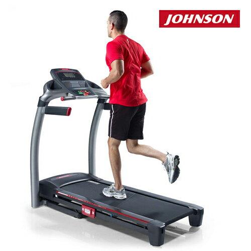 JOHNSON喬山 8.1T為愛而跑電動跑步機《view fit運動系統》
