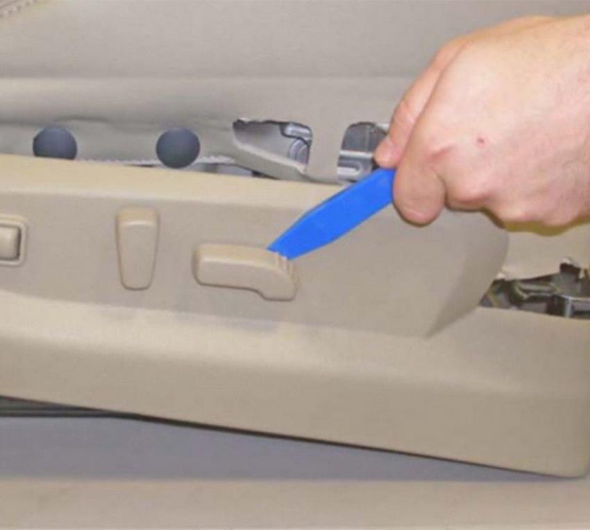 11pc Trim Removal Tool Set Clip Interior Wedge Panel Dash Trim Removal Clip Nylon Plastic 2