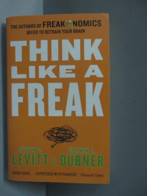 ~書寶 書T1/原文書_MDZ~Think Like a Freak_Steven D.