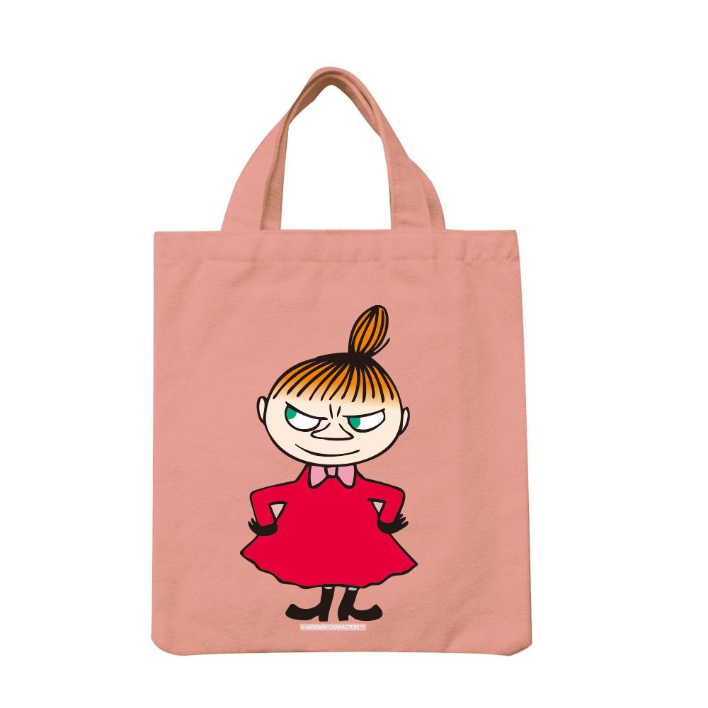 【嚕嚕米Moomin】手提帆布包-Liitle My (粉紅/黃)