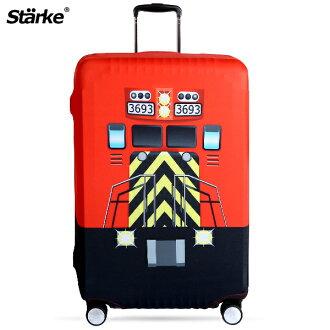 E&J【010001-08】Starke 高彈性行李箱套 - 快樂火車;適用26-29吋/防塵套/防刮/行李箱保護套