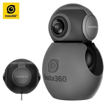 MY DC數位相機館:Insta360Air全景相機(黑)(Type-c)Insta360讓您的安卓手機變360度全景相機Air360°