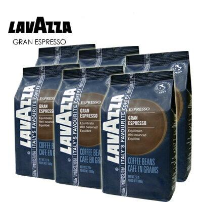義大利【LAVAZZA】Gran Espresso 重味咖啡豆(1000g) / 一箱6包★1月限定全店699免運