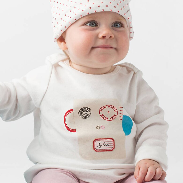小皮猴.T-shirt  / 嬰幼兒童裝 上衣 (歐盟認證有機無毒,英國進口品牌) / 6~24個月2種尺寸供選擇