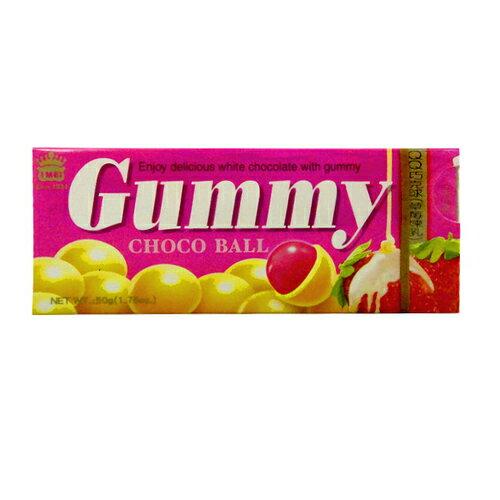 義美 QQ巧克球-草莓煉乳 50g