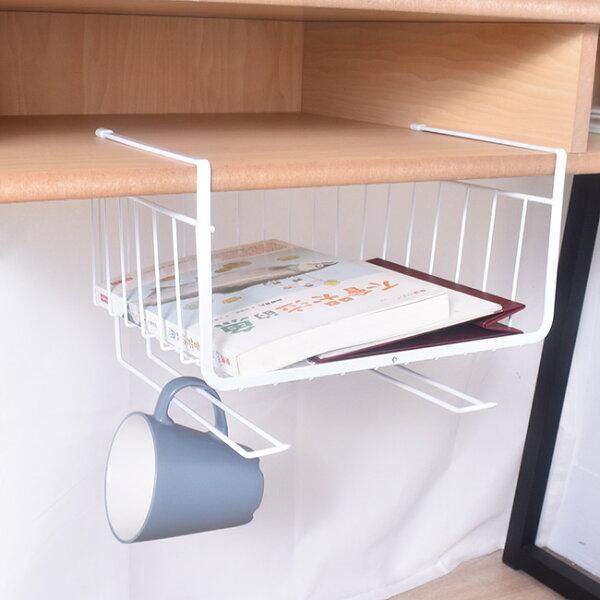 凱堡傢俬生活館:凱堡桌下櫥櫃小物收納網格籃收納架【H02027】