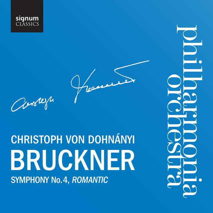 signum 杜南伊(Christoph von Dohnanyi)/布魯克納:第4號交響曲「浪漫」(Bruckner:Symphony No.4,Romantic)【1CD】