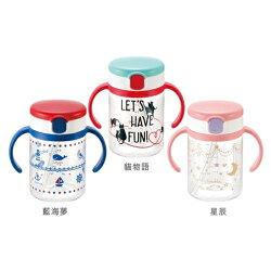 Richell利其爾-第三代LC吸管水杯200ml(藍海夢/星辰/貓物語) 【六甲媽咪】