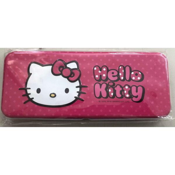 【出清特賣】HelloKitty凸面鐵筆盒-粉紅款【合迷雅好物商城】