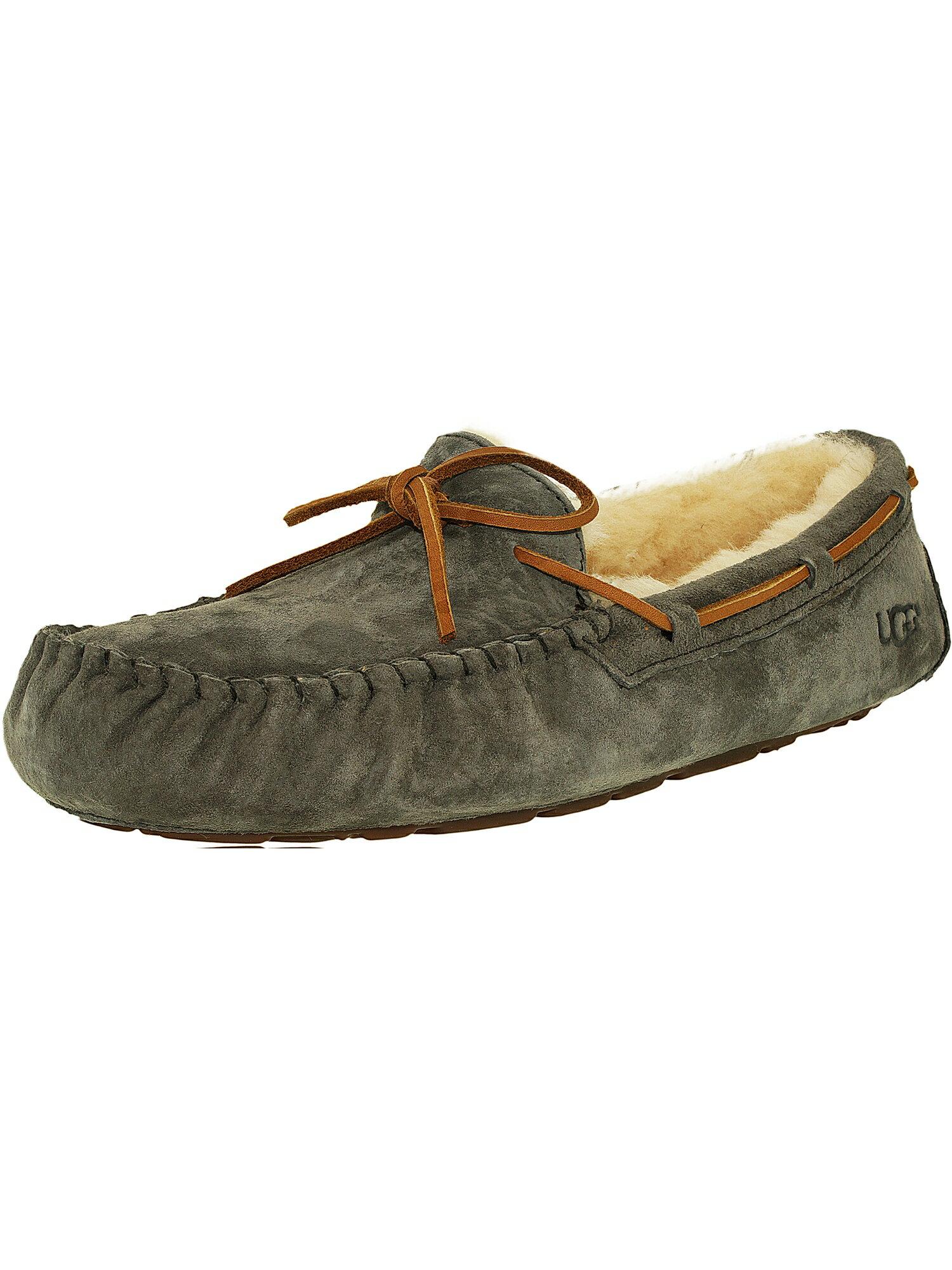 f81e2eca51 Ugg Women's Dakota Leather Black Ankle-High Suede Slipper