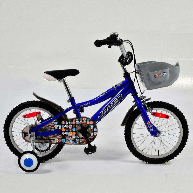 【7號公園自行車】JOKER 傑克牌 A-C1611 16吋彩繪童車 藍