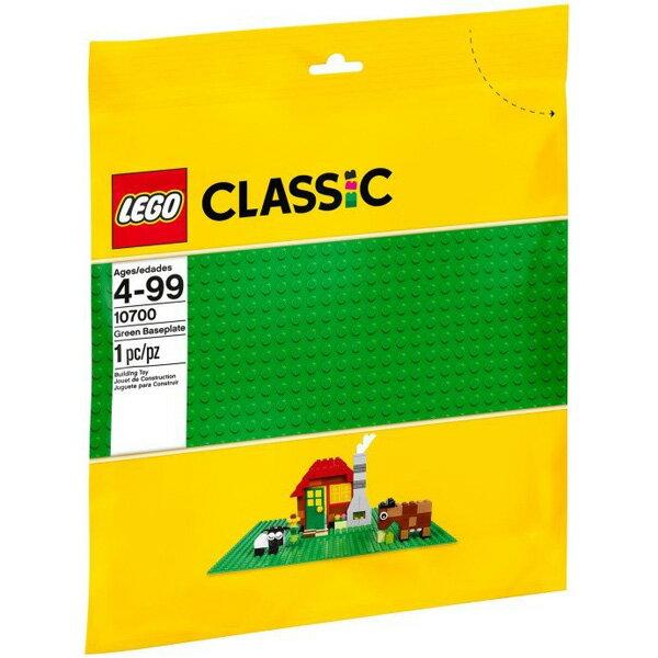 【LEGO 樂高積木】Classic 經典系列 - 綠色底板 LT-10700