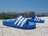 Shoestw【D67479】ADIDAS DURAMO K SLIDE 拖鞋 中童 一體成型 藍白 0