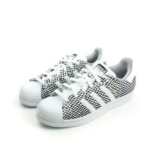 adidas SUPERSTAR SNAKE 休閒鞋 白 童 no141