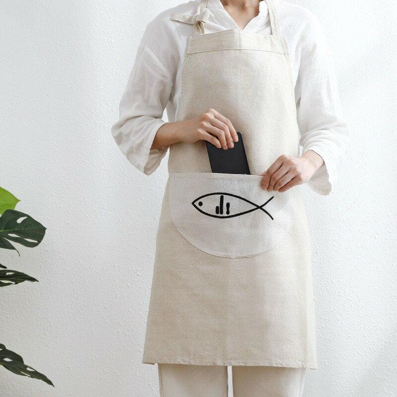 日式職人牛仔圍裙