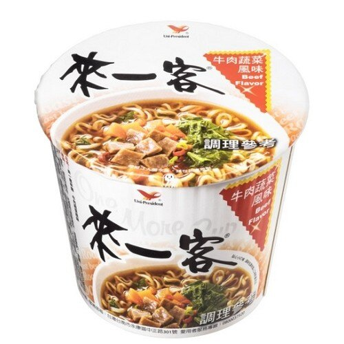 統一來一客杯麵牛肉蔬菜風味65g*3入【愛買】