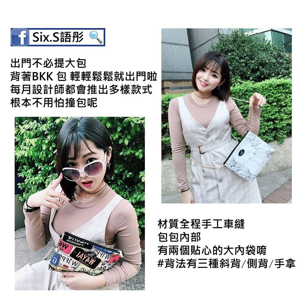 【正版】泰國BLISS BKK包手拿包側背包斜背包-花花藍  (4款背帶可選) 影片實拍 X RUNWAY FASHION ICON 4