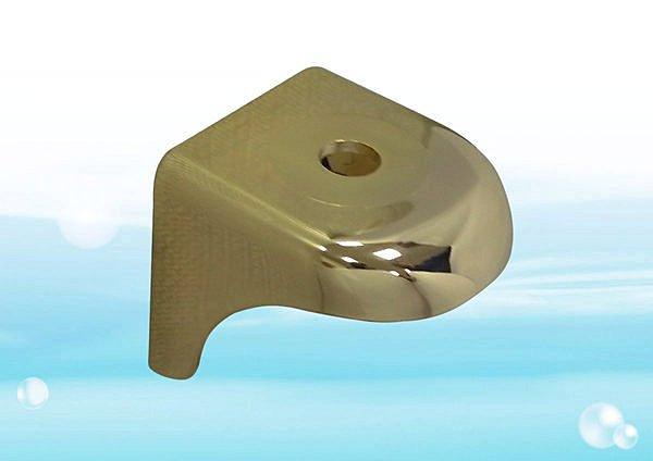 流線型鵝頸吊片-金色 淨水器鵝頸龍頭專用《RO、淨水器週邊耗材 》