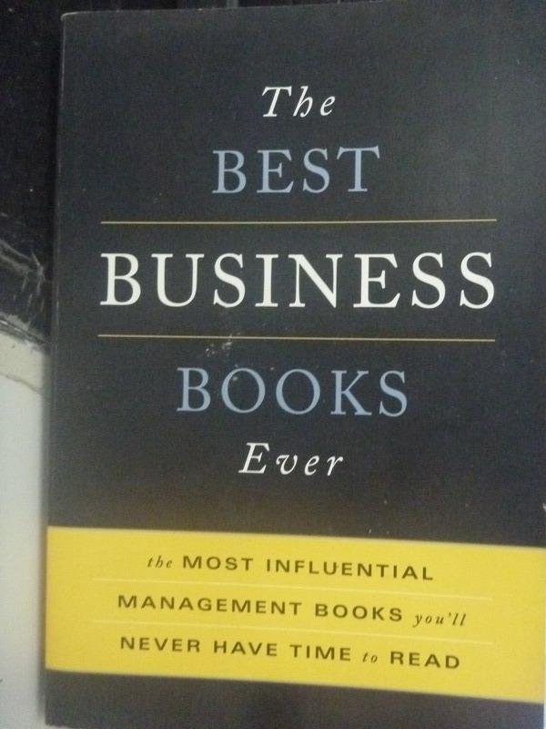 ~書寶 書T6/財經企管_ZHZ~The Best Business Book Ever_
