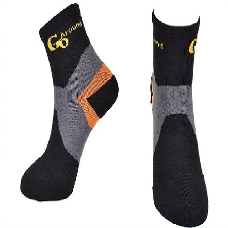壓縮運動襪 GoAround 消臭抗菌踝部加壓型運動襪(1雙)  吸濕排汗 運動 腳臭 足底筋膜炎 腫脹 萊卡