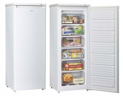 SAMPO 聲寶 180公升 直立式冰櫃 SRF-180S/SRF180S/多段溫控/隱藏式把手/600a環保新冷媒