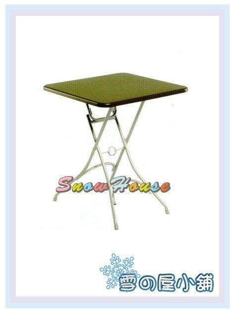 ╭☆雪之屋居家生活館☆╯AA836-01/03 烤銀戶外折合桌/餐桌/休閒桌/置物桌/二色可選