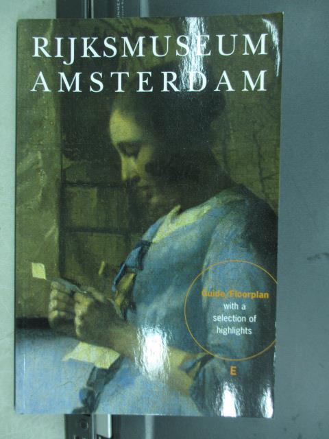 ~書寶 書T9/藝術_QLI~Rijksmuseum Amsterdam