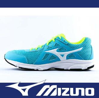 萬特戶外運動 MIZUNO 美津濃 K1GA170416 女慢跑鞋 SPARK 2 耐磨大底 透氣 舒適 慢跑 步行 輕運動 藍色