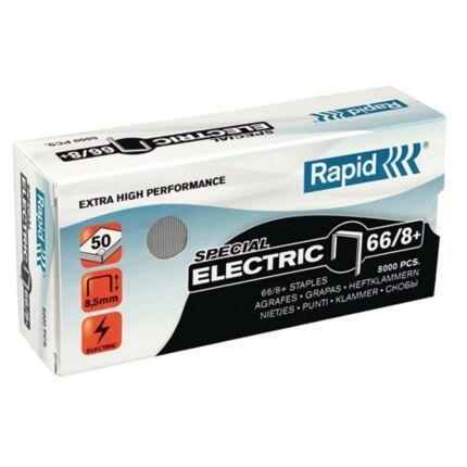 永昌文具用品有限公司 RAPID 瑞典 66/ 8 電動 訂書針 釘書針  5000支入/ 盒