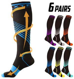 ad7d1a8127 PulseTV: Verge Knee-High Sport Compression Socks by Extreme Fit ...