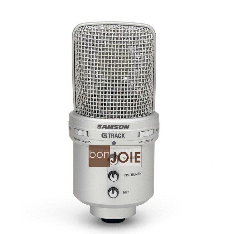 ::bonJOIE:: 美國進口 Samson G-Track 電容式 USB 麥克風 (全新盒裝) MIC Condenser Microphone with Audio Interface