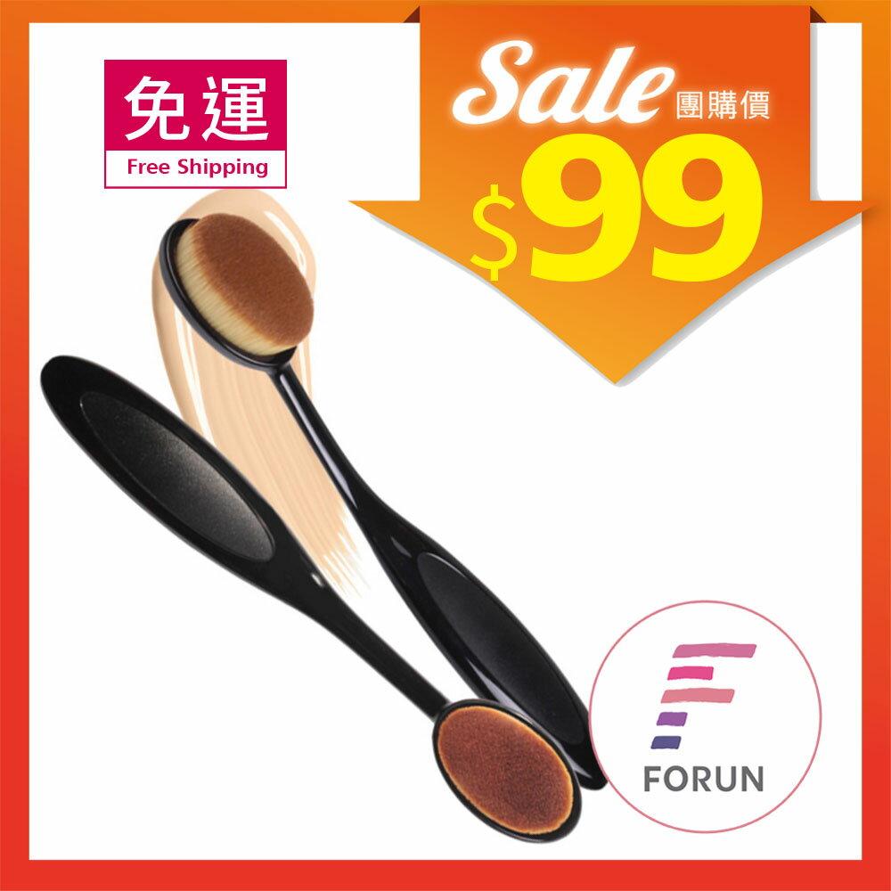 【99元免運省荷包】 韓國 Coringco 牙刷型粉底刷 1支入