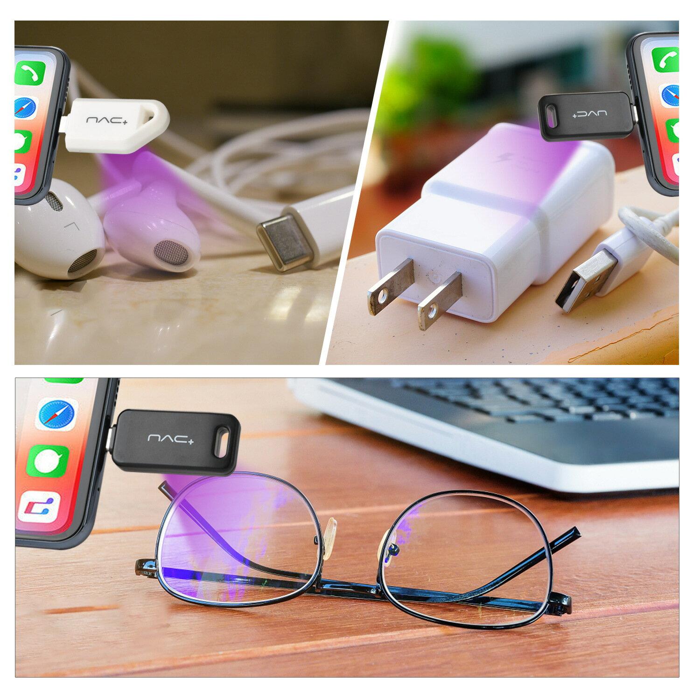 新款手持uvc紫外線消毒燈LED殺菌燈殺毒燈便攜式手機迷你消毒器 uHJC