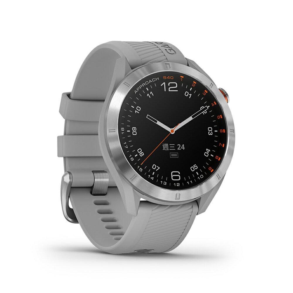 『領卷折』【免運】【H.Y SPORT】GARMIN Approach S40 GPS高爾夫腕錶  { 贈日本SASAKI運動毛巾 }  4