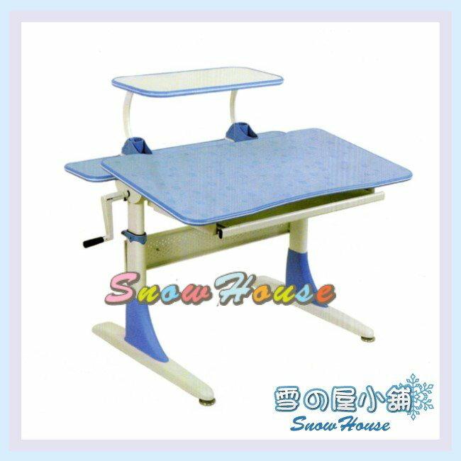 ╭☆雪之屋居家生活館☆╯R120-04 CT-808S-BL兒童桌(藍)(DIY自組)/書桌/辦公桌/電腦桌/學生桌