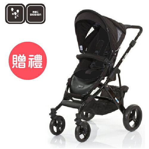 【好禮五選二】德國【ABC Design】Mamba推車 (黑管黑底) 0